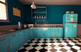Дизайн кухни в стиле ретро: как создать атмосферный интерьер и передать дух ушедшей эпохи
