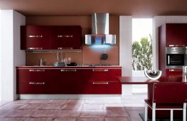 Особенности размещения кухонных шкафов