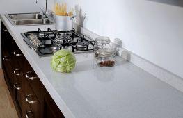 Столешницы из кварца в дизайне кухни