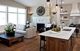 Особенности создания интерьера кухни в частном доме
