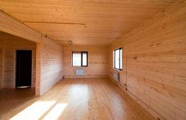 Отделка внутри дома имитацией деревянного бруса – практичный дизайн и разумная экономия