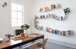 Варианты идей для изготовления книжных полок своими руками