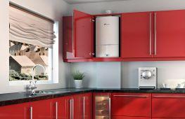 Практичные советы, как спрятать газовую трубу, колонку и другое оборудование в интерьере кухни