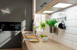 Светодиодная подсветка для кухни. Как правильно подобрать и установить осветительные приборы над рабочей зоной