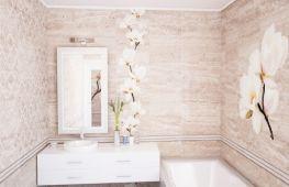 ПВХ панели для ванной: как выбирать и использовать в отделке
