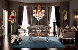 Тонкости дизайна интерьера гостиной в классическом стиле