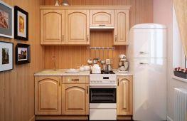 Как и где разместить холодильник в интерьере маленькой кухни