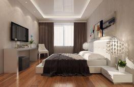 Дизайн и оформление потолка: материалы и основные требования для спальни