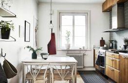 Обеденная зона на кухне: особенности зонирования и оформления