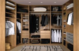 Дизайн гардеробной: правила оформления и оригинальные проекты