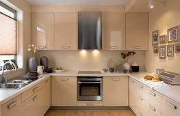 Идеи дизайна кухни, воплощенного в бежевых тонах