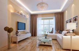 Гостиная, оформленная в светлых тонах – место отдыха и расслабления