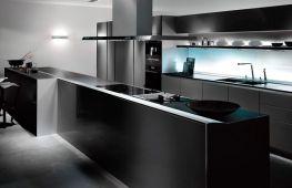Кухня в стиле хай-тек – ощущение пространства и последние технологии
