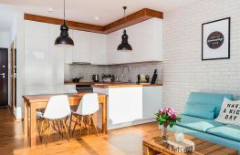 Идеи дизайна современной кухни-студии