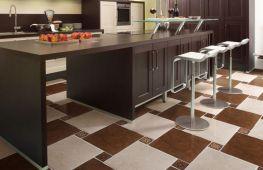 Выбор керамогранита на кухонный пол: основные характеристики материала