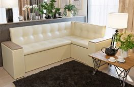 Особенности выбора диванов для кухни, включающих спальное место