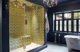 Идеи для отделки ванной комнаты и душевой кабины керамической плиткой