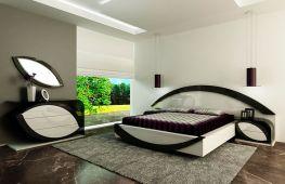 Идеи дизайна спальни, оформленной в стиле модерн