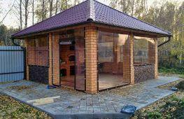 Мягкие окна (шторы) в обустройстве террасы, веранды или беседки