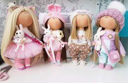 Особенности интерьерной куклы из ткани и мастер-класс по ее созданию своими руками