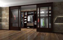 Двери в гардеробную: основные разновидности, советы по подбору и уходу