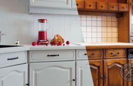 Способ домашней реставрации мебели из кухни