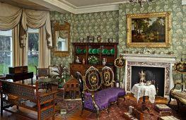Интерьер дома в духе викторианской эпохи