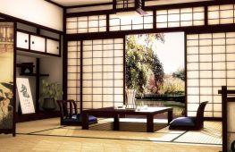 Японский стиль в интерьере: выбор материалов и особенности отделки