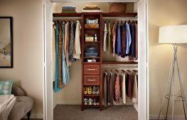 Как переоборудовать кладовку в гардеробную