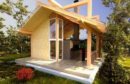 Идеи строительства летней кухни в загородном доме или на даче