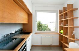 Разновидности стеллажей для кухни и их место в интерьере