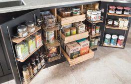 Удобное и правильное хранение вещей на кухне