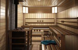Планировка бани с размерами 4 на 4