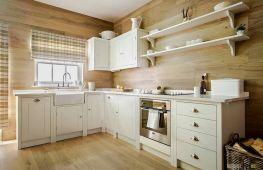 Стены на кухне: чем оформить, отделка современными материалами