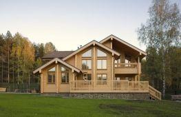 Положительные и отрицательные качества домов, построенных из бруса