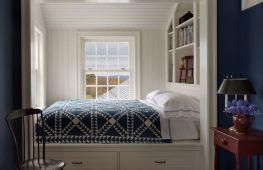 Кровать в нише: как организовать пространство