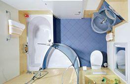 Секреты и хитрости удачного дизайна ванной комнаты маленького размера