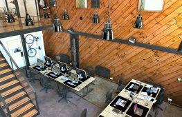 Приемы создания интерьера кабинета в стиле лофт и практические советы