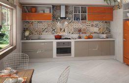 Какую выбрать и как уложить плитку на фартук кухни