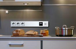 Обустройство электропроводки на кухне