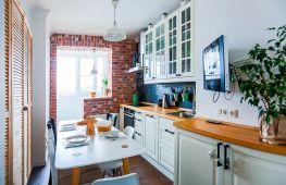 Совмещенное пространство: как грамотно объединить кухню с соседствующим балконом