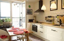 Кухня без верхних шкафов: стильные решения для интерьера