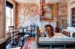 Художественная роспись стен в интерьере: интересные техники и идеи эффектного декора