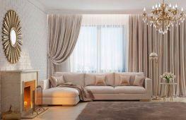 Идеальные шторы для зала. Баланс между дизайном помещения и стилем штор