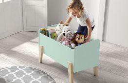 Как обустроить места для хранения игрушек в детской. Оригинальные и простые идеи