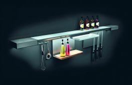 Рейлинги – удобная и практичная система хранения для кухни