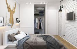 Элегантная и уютная спальня в скандинавском стиле: детали оформления интерьера