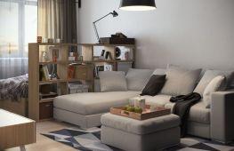 Правила и особенности расстановки мебели в однокомнатной квартире