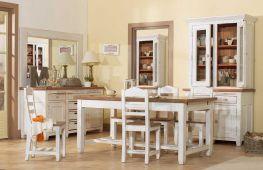 Декупаж в интерьере дома: обеденный стол в стиле прованс, идеи, фото