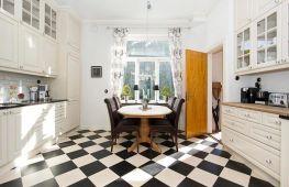 Идеальный пол на кухне: как выбрать напольное покрытие